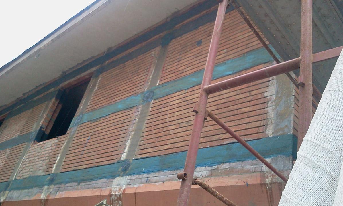 Ripristino Solaio Latero Cemento consolidamento solai in legno - carbon fibre